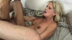Bridgett Lee demonstrates rare talent of unforgettable cock swallowing