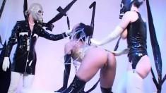 Ineta Nikoletta And Horny Judith Get Into An Ass-exploring Threeway