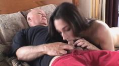 Cock starving wives making the most of their time with hung strangers