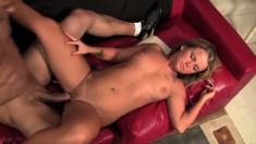 Insatiable Kylee Nicole can't wait to get banged by this hung black thug