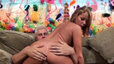 Petite blonde slut with perky titties Tanner Mayes loves to be pleased