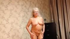 Big Tit Granny Solo
