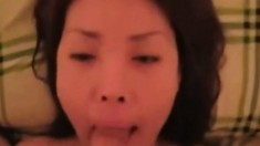 Korean Gf Suck And A Facial