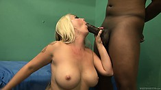 Reckless, fair-haired slut gets on top of the hungry male's face