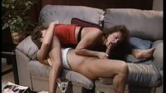 Frannie Talbot gets in a hot 69 before fucking him until he cums