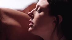 Ebony Jenna Fox Licks Angelas Pussy