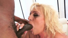Magdi passionately fucks a black pole and indulges in intense orgasms