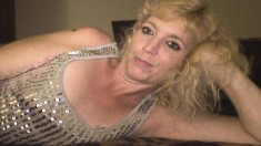 Sexy Blonde Hooker Shares A Few Stories And Brings A Shaft To Orgasm