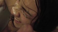 Amateur Girlfriend Handjob And Blowjob With Facial