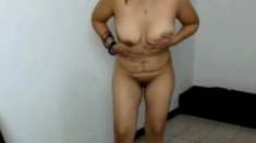 Sexy Latina Dancing Salsa Webcam
