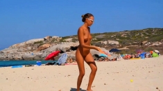 Chick Of Russia Katya - Corsica Beach