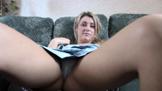 Upskirt No Panties Hairy Bush