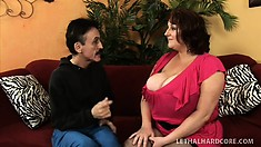 Chubby Mature Redhead With Massive Boobs Is In Need Of A Hard Cock In Her Snatch