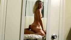 Blonde Girl POV Fuck on Bed